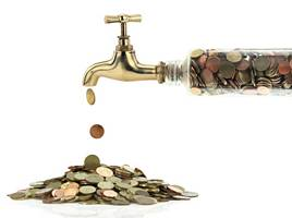 geld-besparen-kraan