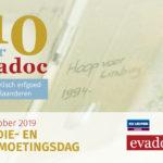 Studie- en ontmoetingsdag 10 jaar Evadoc